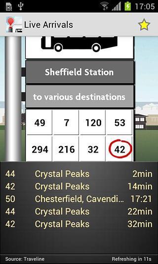 Bus Checker软件截图5