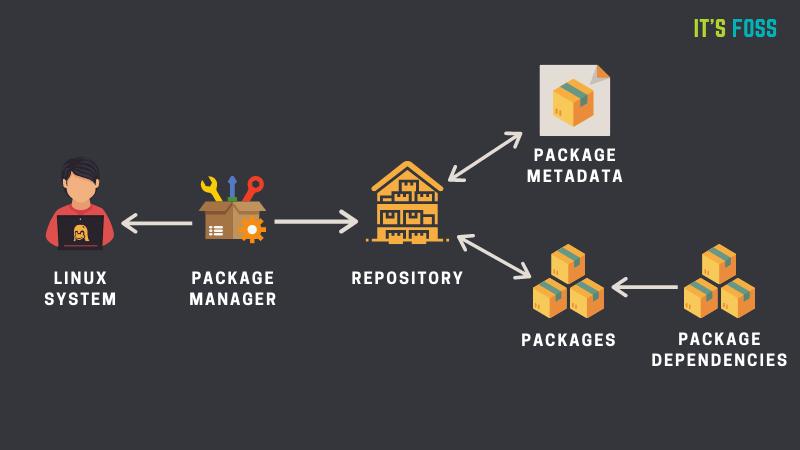 Linux 黑话解释:什么是包管理器?它是如何工作的?
