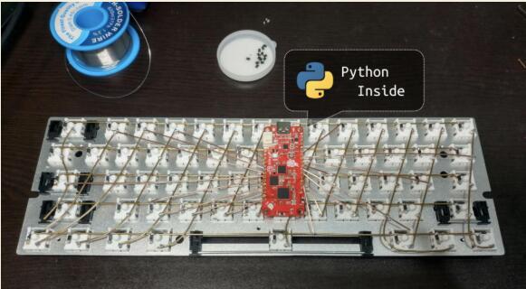 自己动手「焊」键盘,使用Python编写,一键放连招不在话下