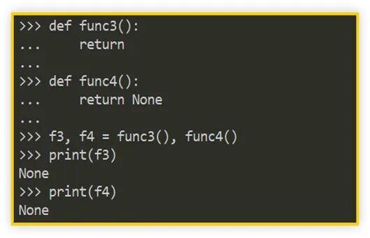 Python 函数为什么会默认返回 None?