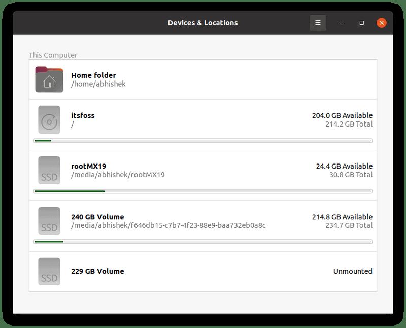 如何在Linux上检查可用的磁盘空间