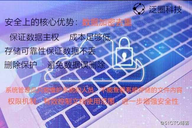泛圈企业云盘权限管理的安全存储