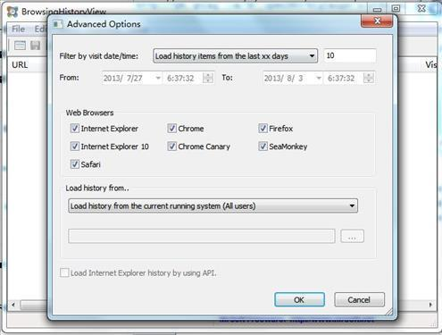 BrowsingHistoryView软件截图3