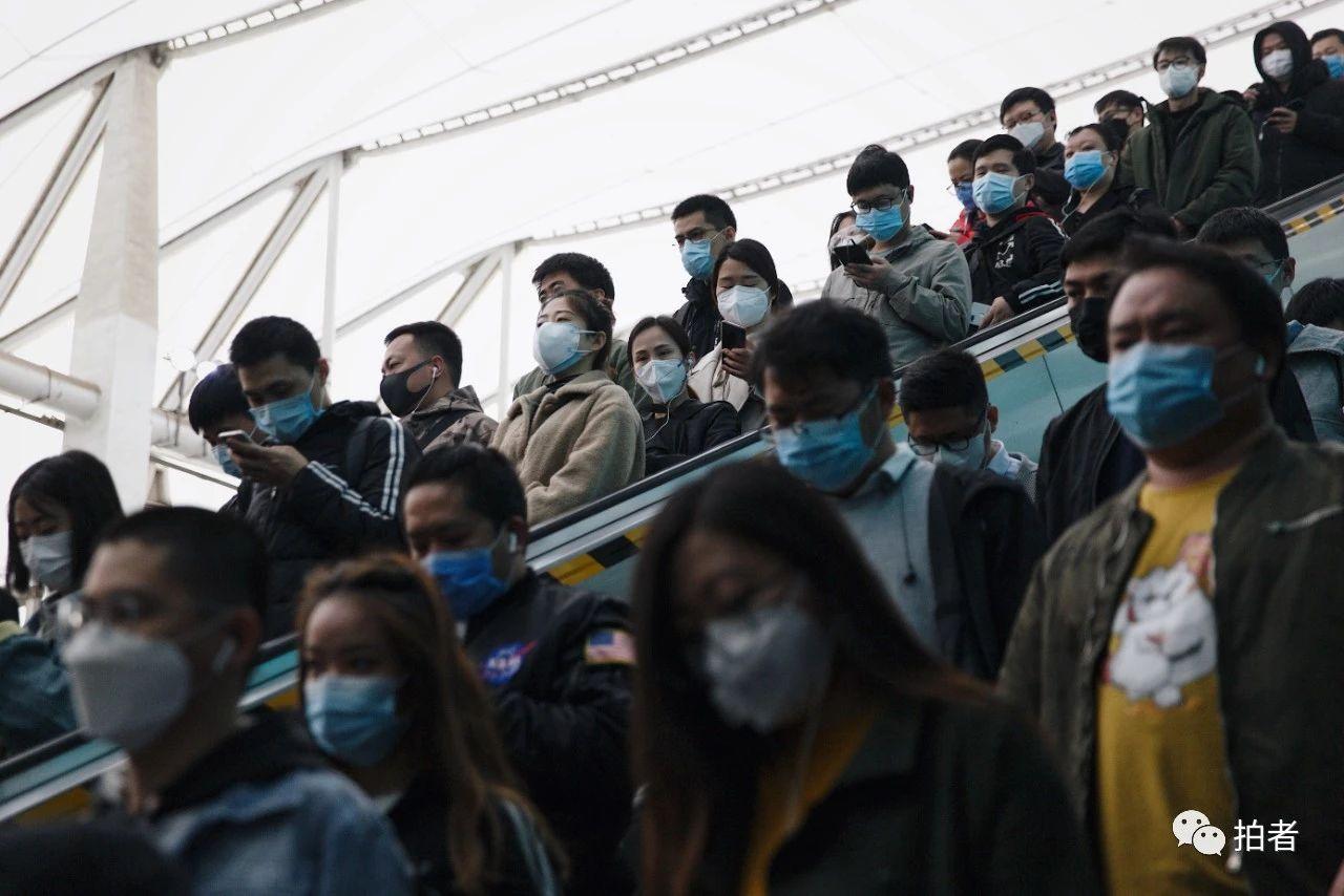 疫情之下,复工中的北京西二旗