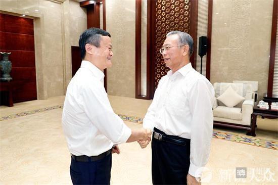 马云大赞山东变化:营商环境、企业家信心都在向好